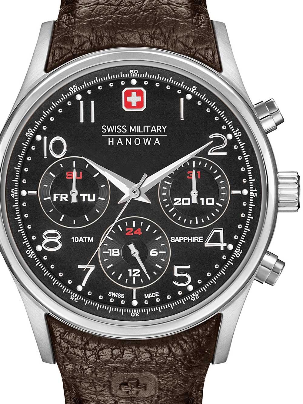 Swiss Military Hanowa 06-4278.04.007 lus Herren 44mm 10ATM