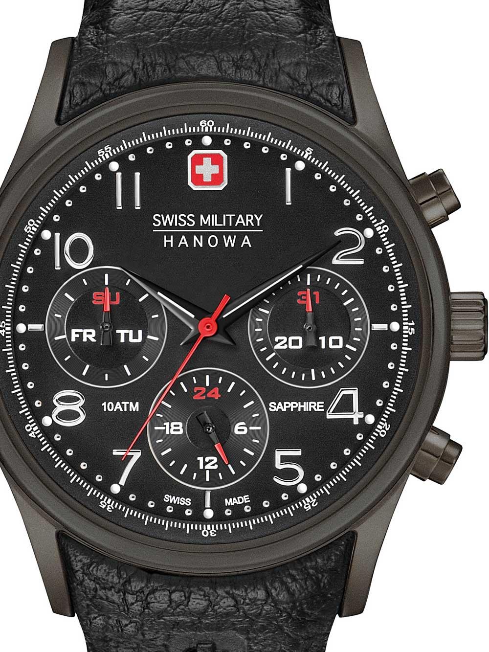 Swiss Military Hanowa 06-4278.13.007 lus Herren 44mm 10ATM