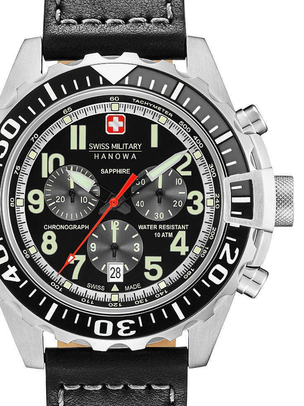 06-4304.04.007.07 Touchdown Chrono 45mm 10ATM