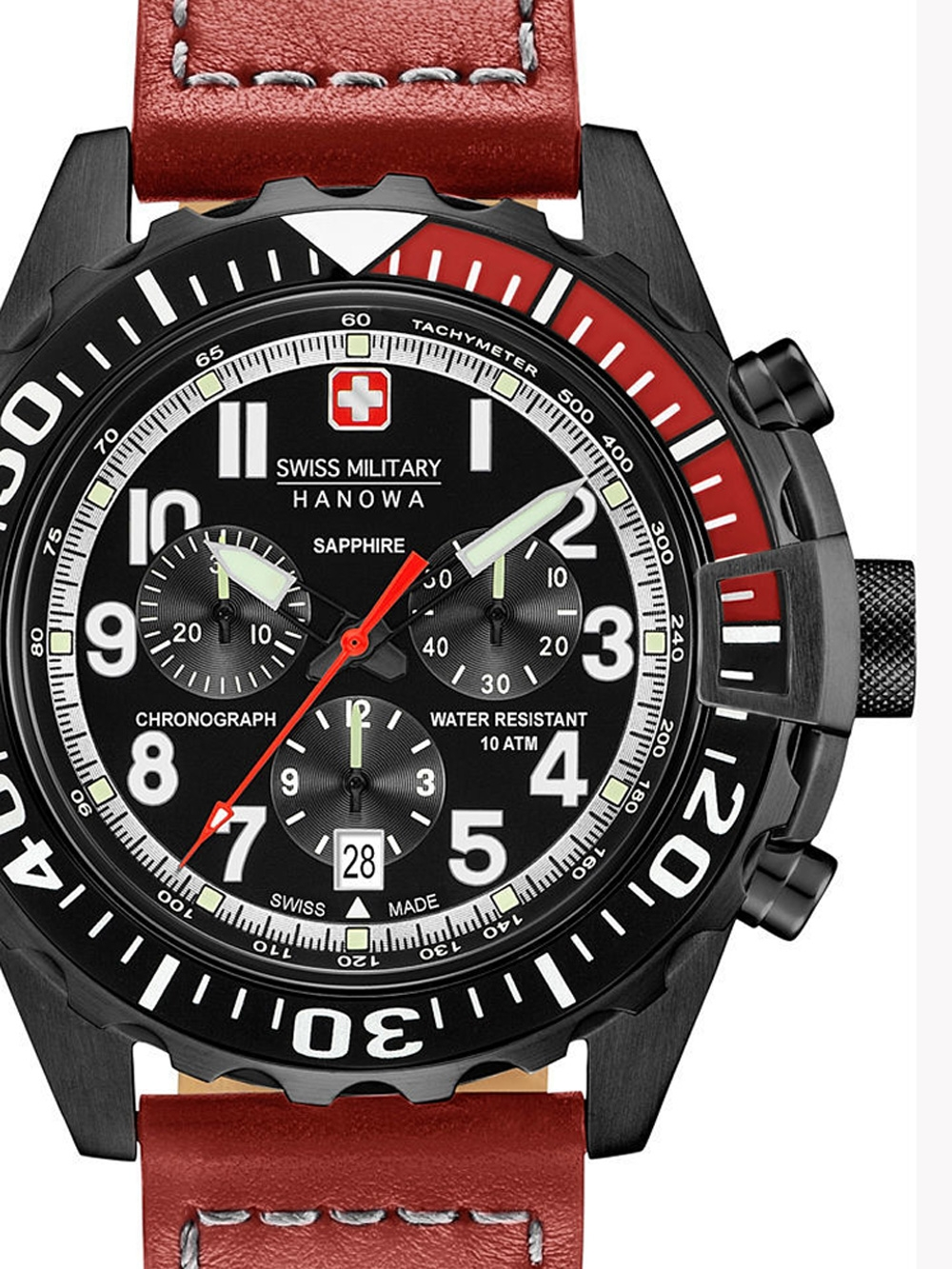 Swiss Military Hanowa 06-4304.13.007 Touchdown Chrono 45mm 10ATM