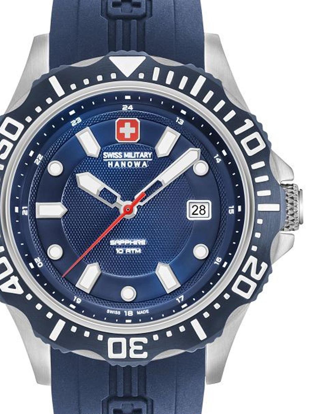 Swiss Military Hanowa 06-4306.04.003 Patrol Herren 45mm 10ATM