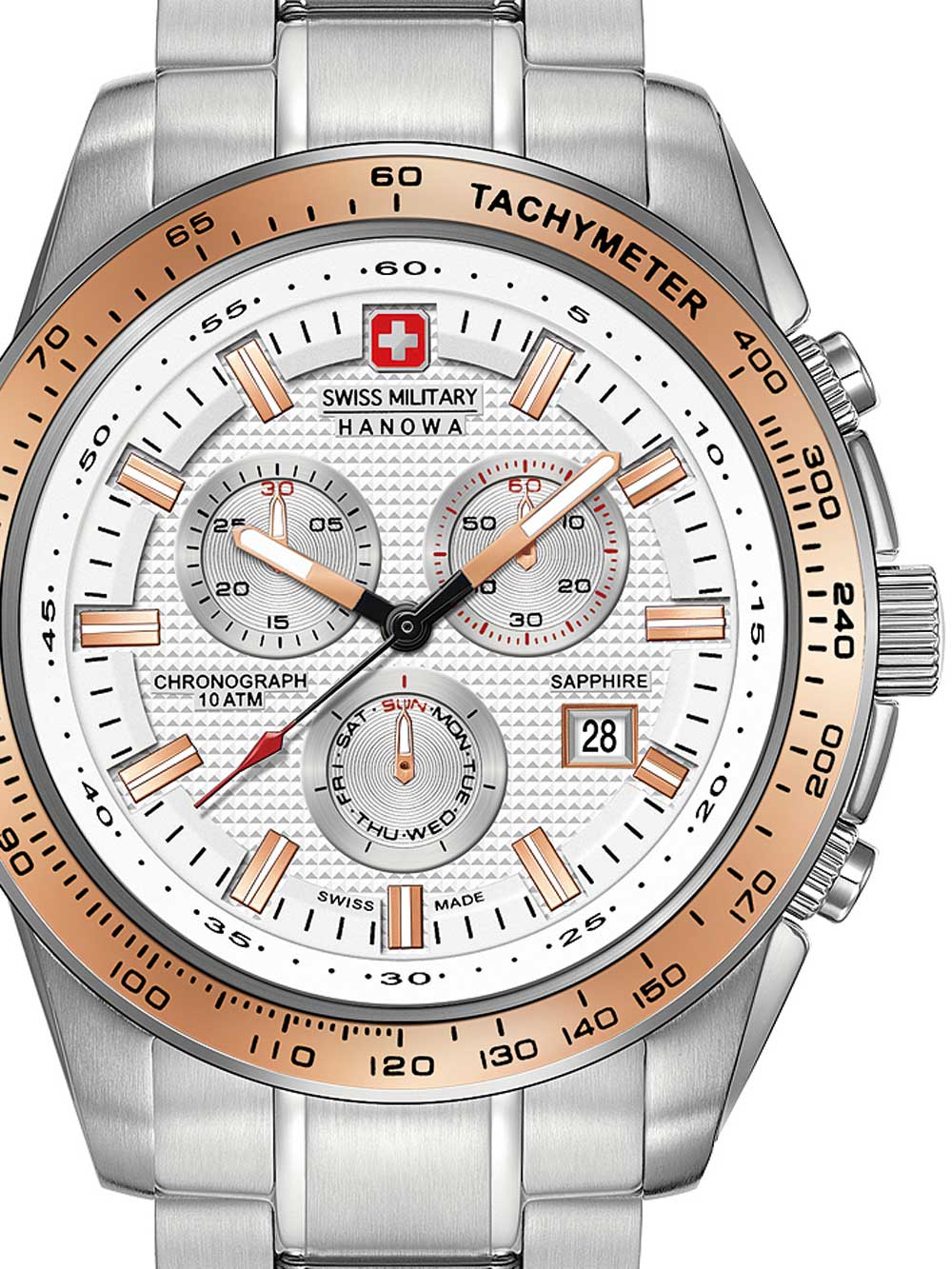 06-5225.04.001.09 Crusader Chrono 43mm 10ATM