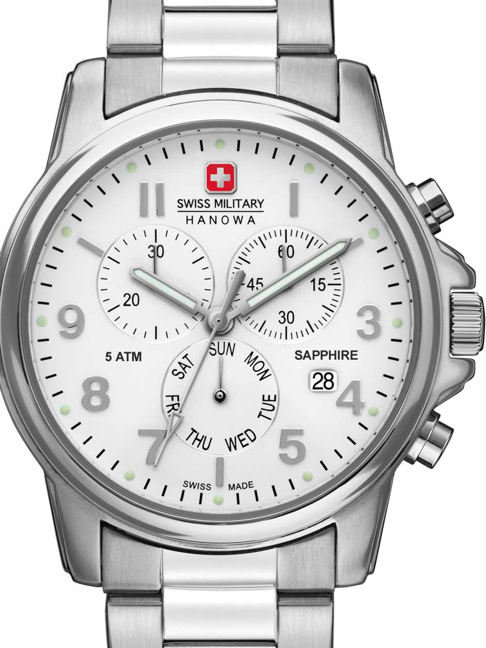 06-5233.04.001 Swiss Soldier Chrono Prime 39mm 5ATM