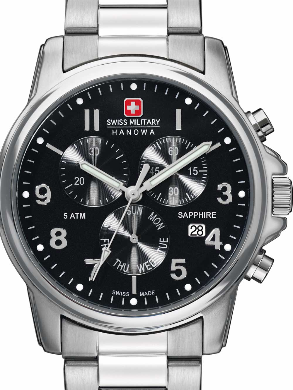 06-5233.04.007 Swiss Soldier Chrono Prime 39mm 5ATM