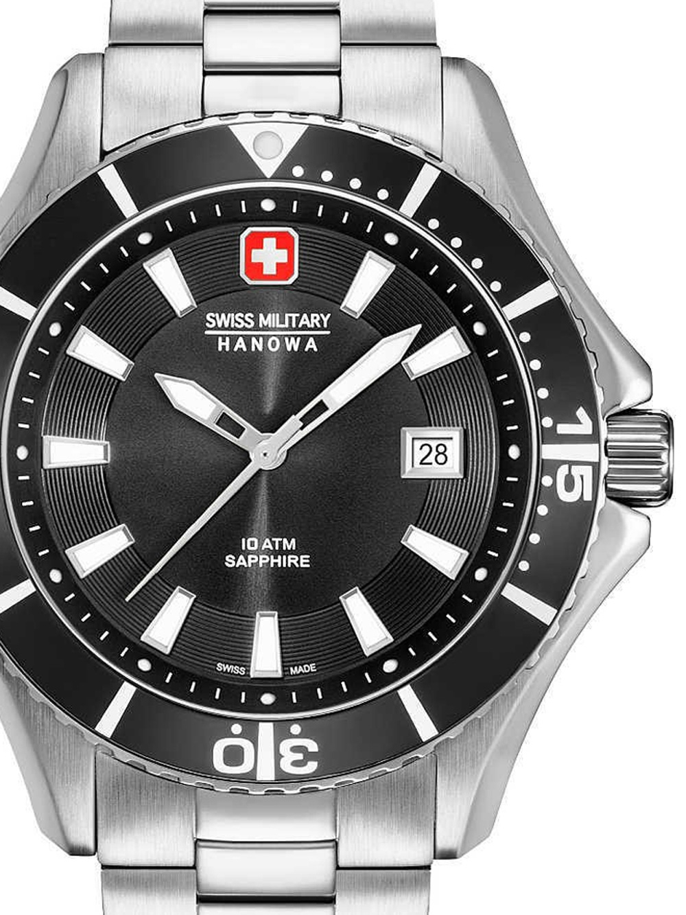 Swiss Military Hanowa 06-5296.04.007 Nautila Herren 46mm 10ATM