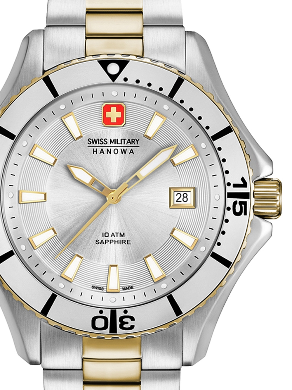 Swiss Military Hanowa 06-5296.55.001 Nautila Herren 46mm 10ATM