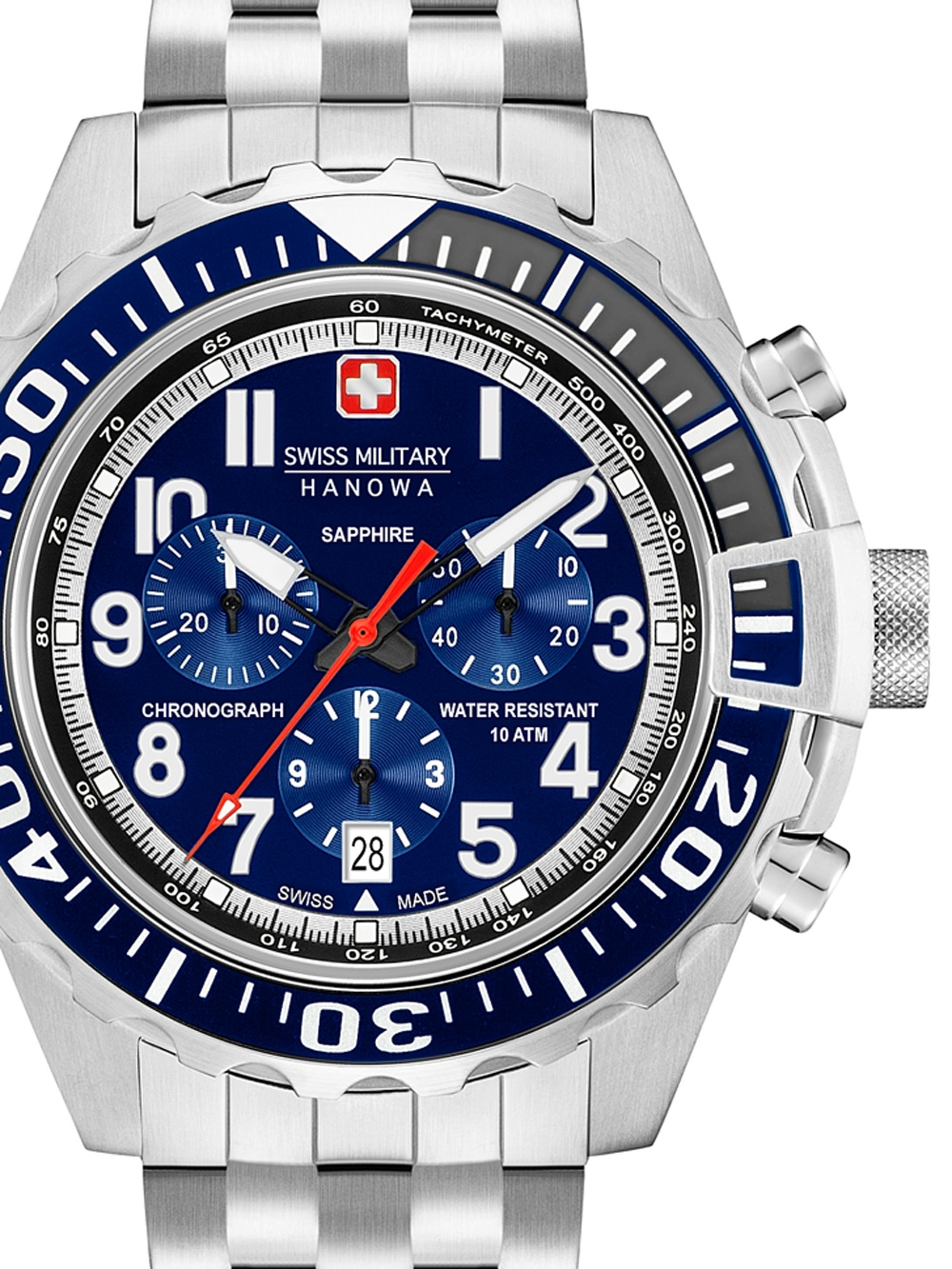 06-5304.04.003 Touchdown Chrono 45mm 10ATM
