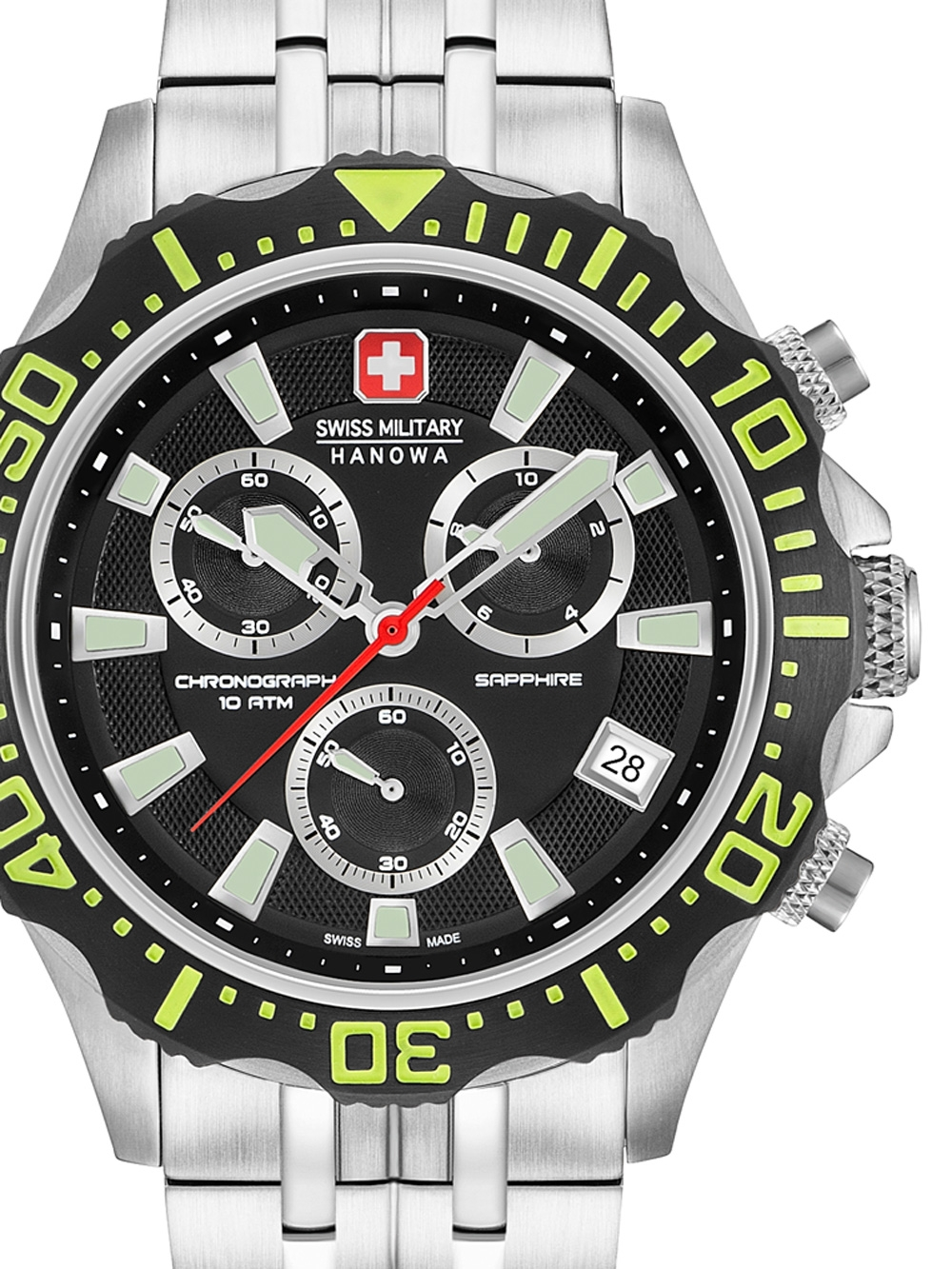 06-5305.04.007.06 Patrol Chrono 45mm 10ATM