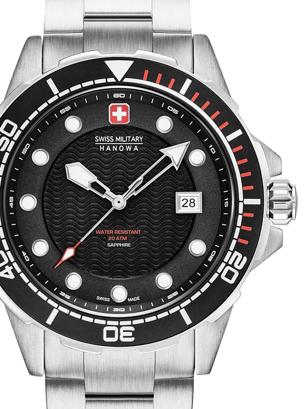 06-5315.04.007 Neptune Diver Herren 44mm 20ATM