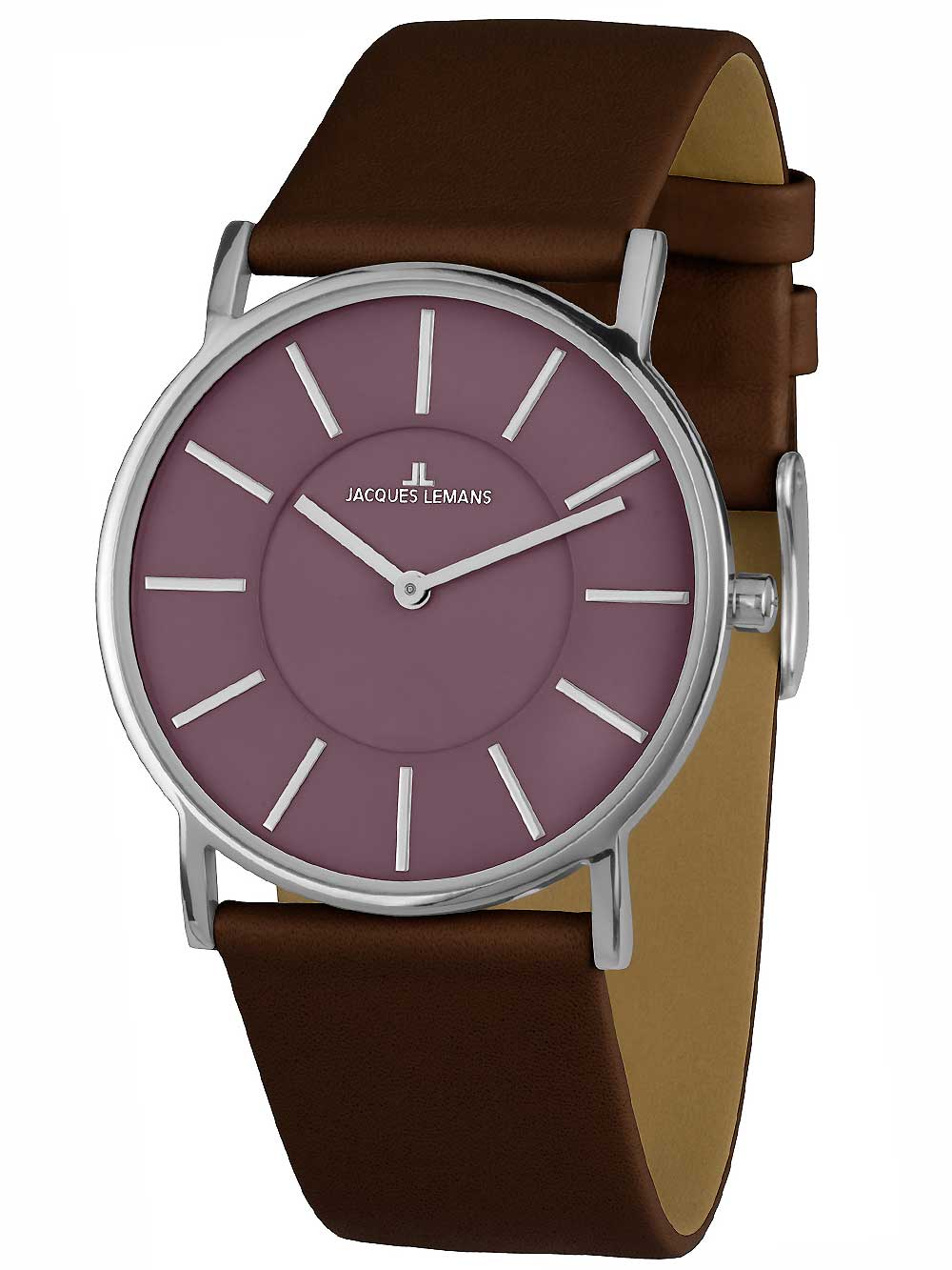 Jacques Lemans 1-1620J York Saphirglas Herren 39mm 5ATM