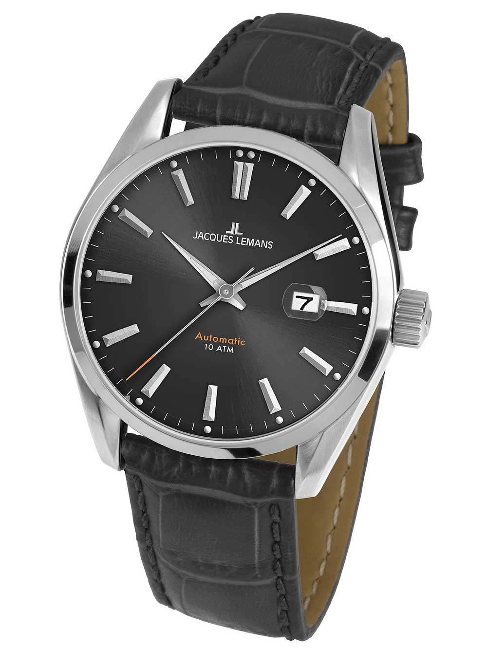 Jacques Lemans 1-1846A Derby Herren Automatik 42mm 10ATM