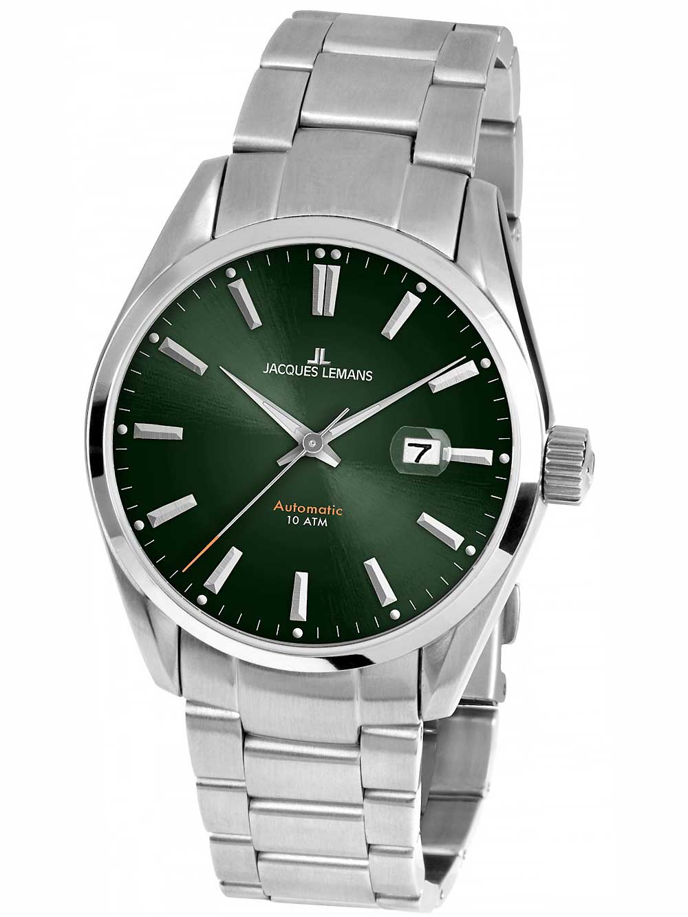 Jacques Lemans 1-1846F Derby Herren 43mm 10ATM