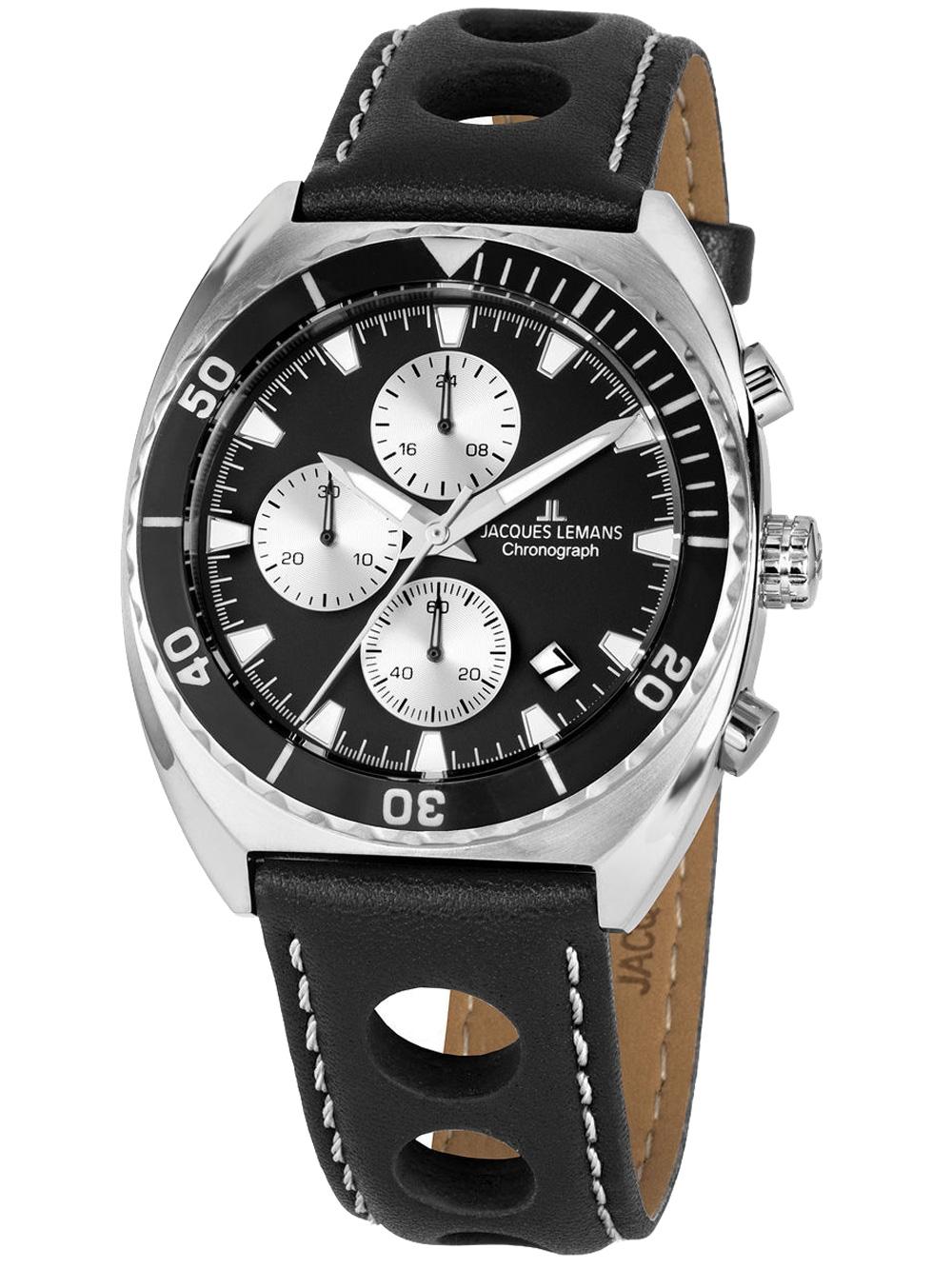 Jacques Lemans 1-2041A Serie 200 Chronograph 40mm 10ATM