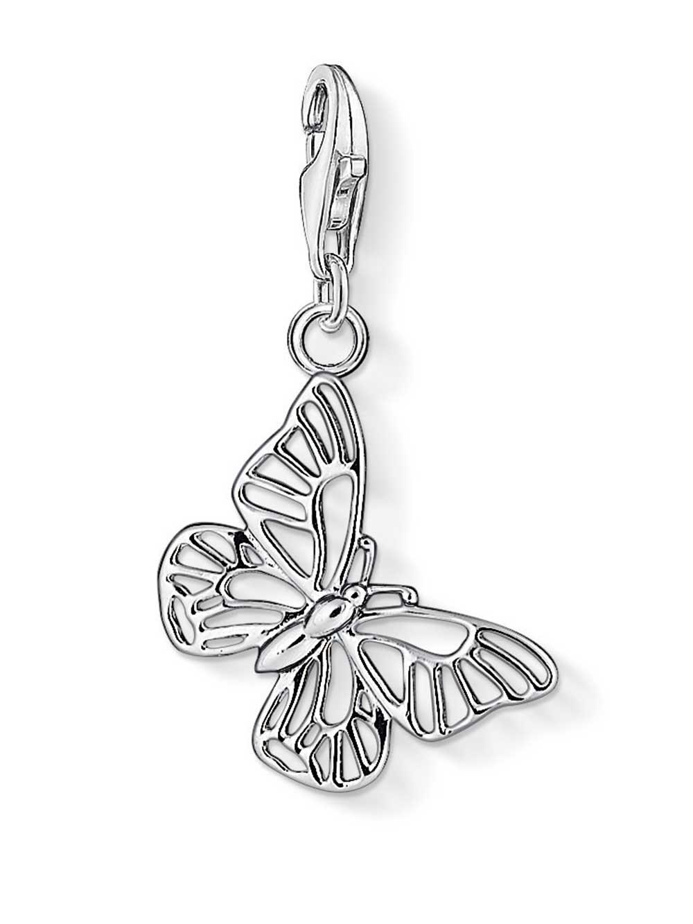 Thomas Sabo 1038-001-12 Charm Anhänger Schmetterling