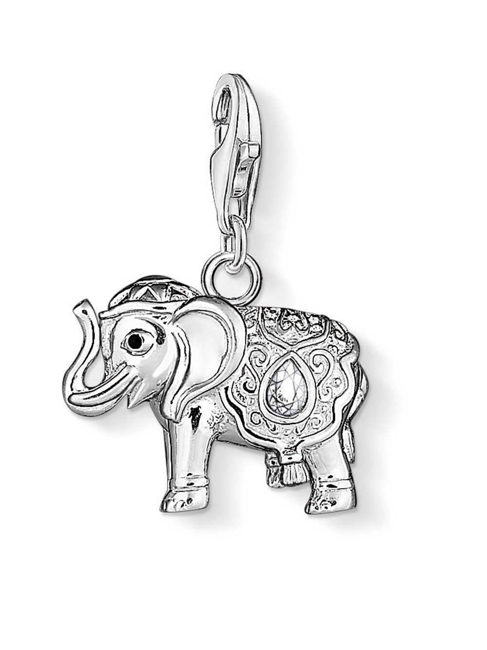 Thomas Sabo 1050-041-14 Charm Anhänger Indischer Elefant