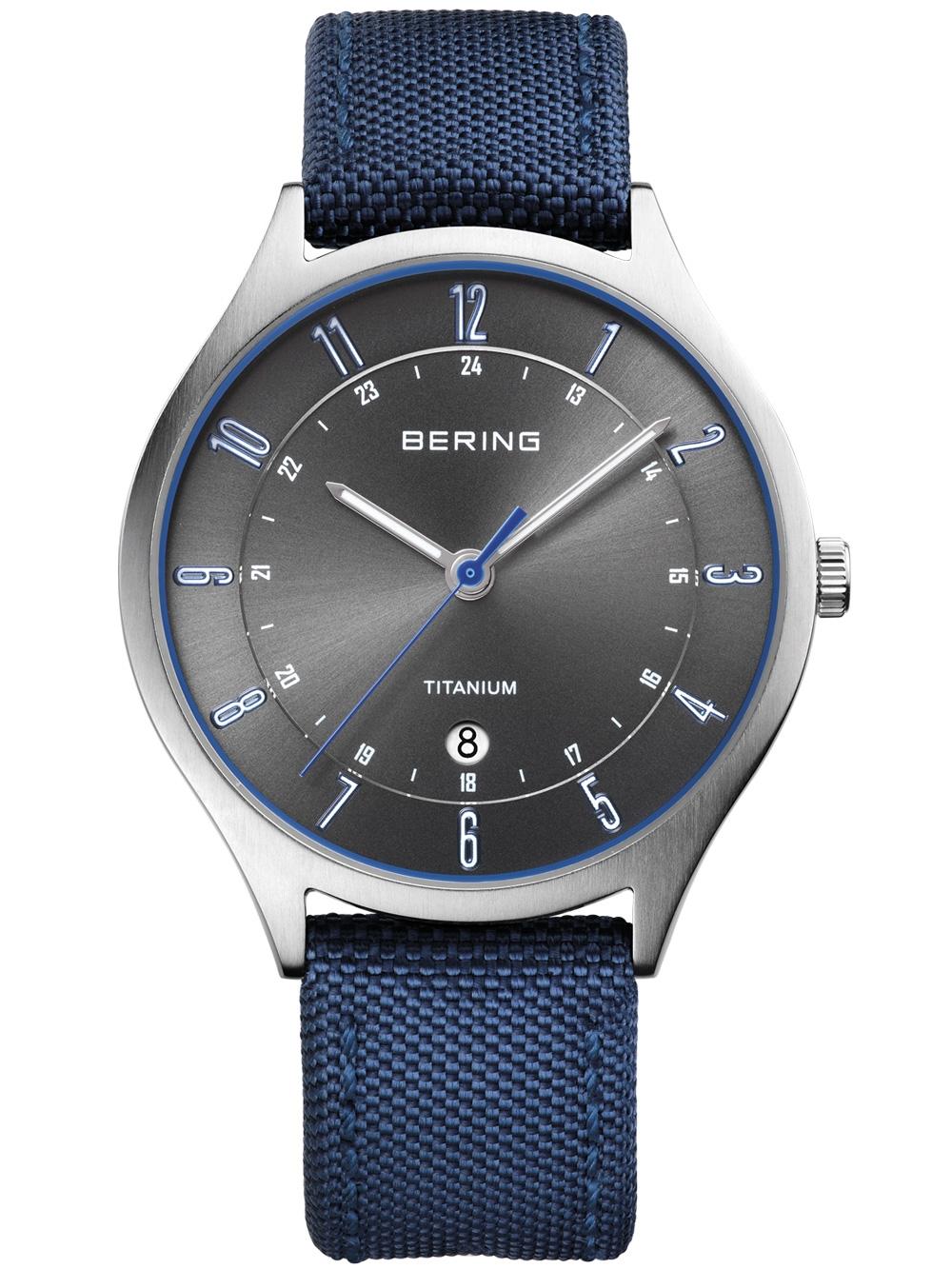 Bering 11739-873 Titanium Herren 39mm 5ATM