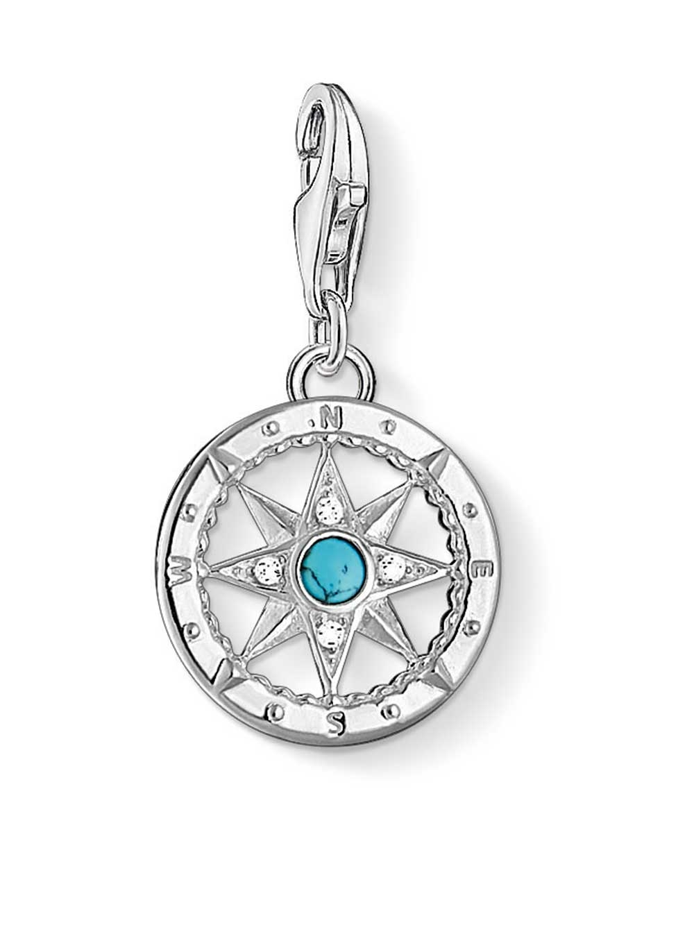 Thomas Sabo 1228-405-17 Charm Anhänger Kompass