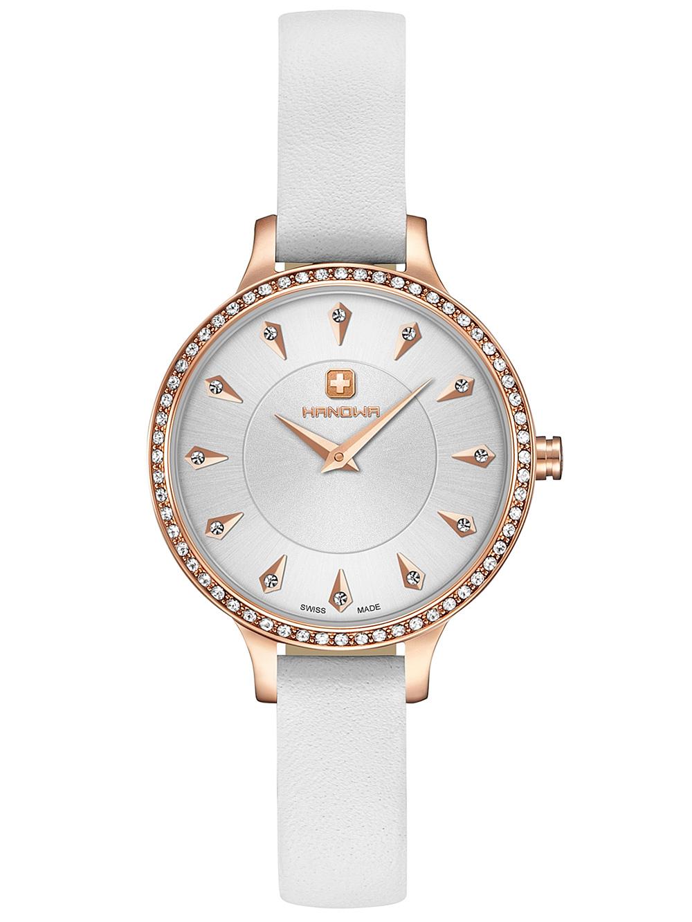 Uhren - Hanowa 16 8009.09.001SET Amelia Set mit Halskette Damen 30mm 3ATM  - Onlineshop Timeshop24