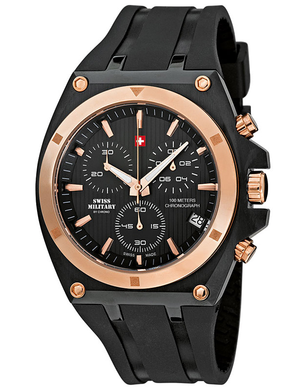 Swiss Military SM34021.05 Chronograph 43mm 10ATM