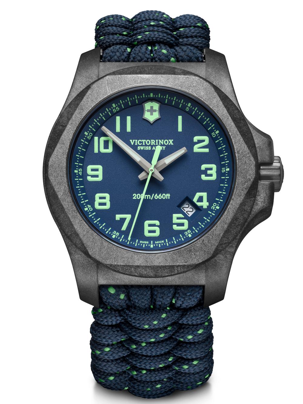 Victorinox 241860 I.N.O.X. Carbon Set m. Wechselarmband 43mm