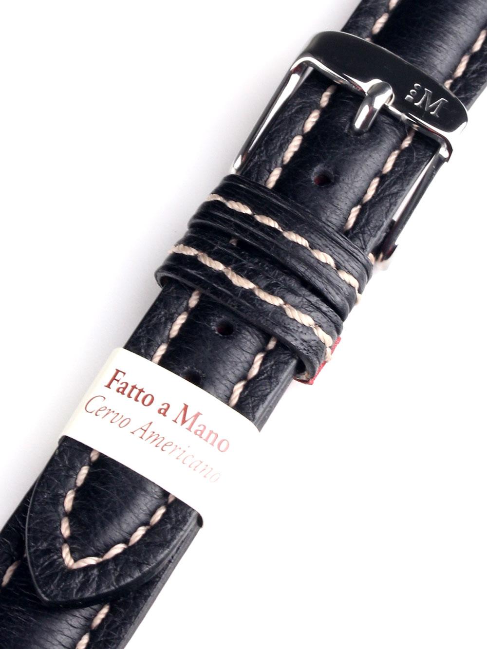 Morellato A01U3885A62019CR18 schwarzes Uhrenarmband 18mm Preisvergleich