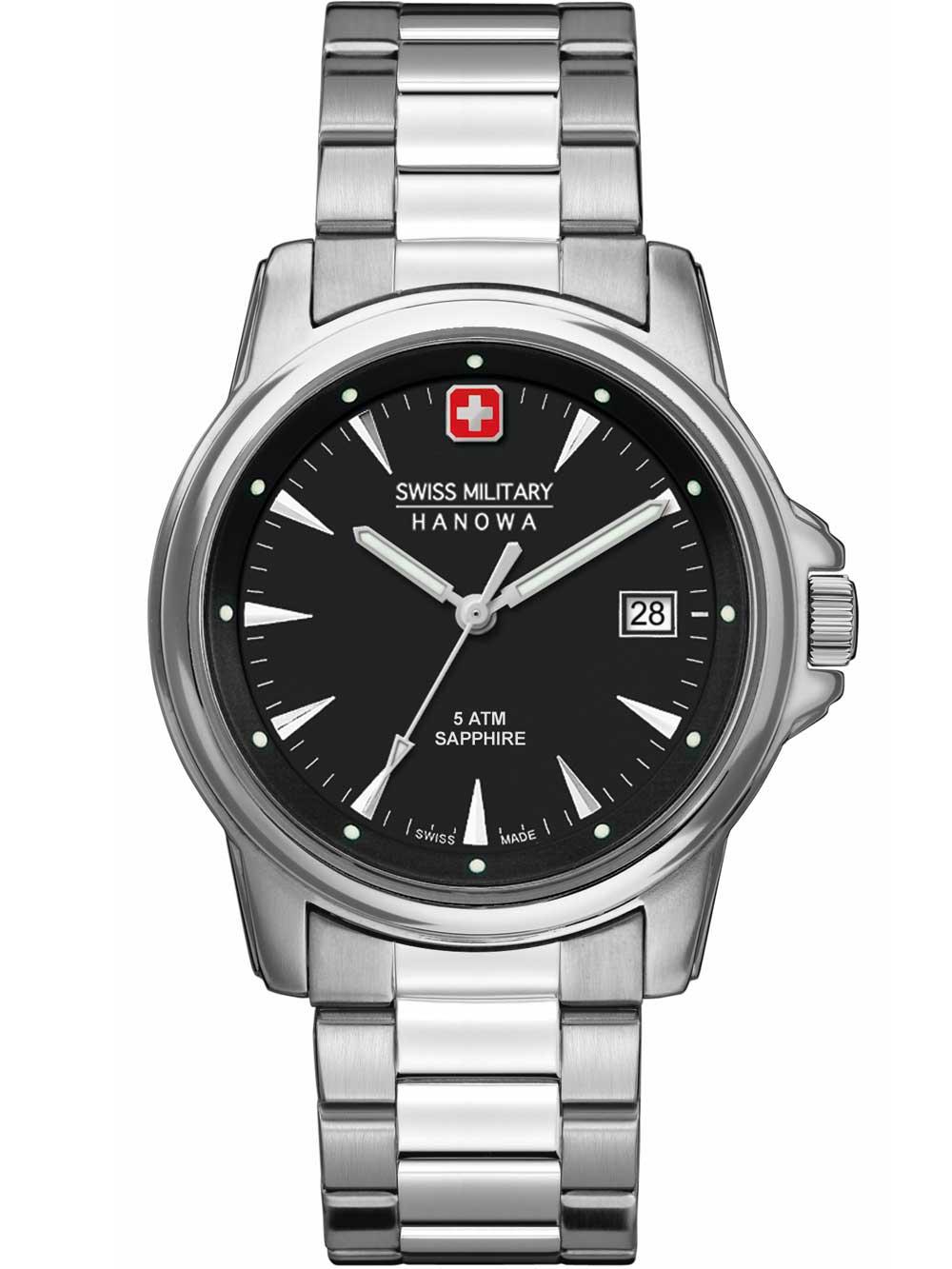 06-5230.04.007 Swiss Recruit Prime Herren 39mm 5ATM