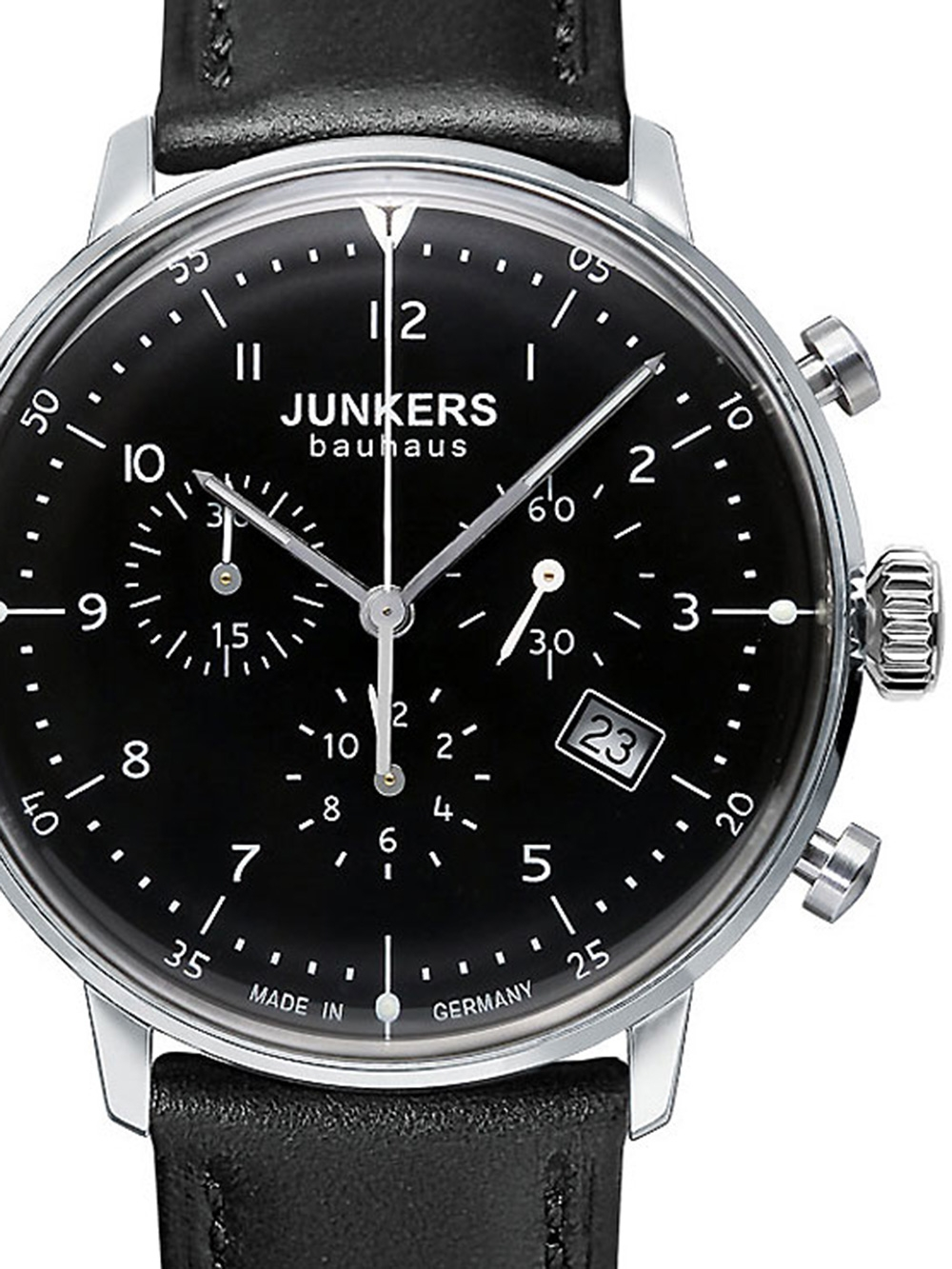 Junkers Bauhaus Chrono 6086 2 Herrenuhr