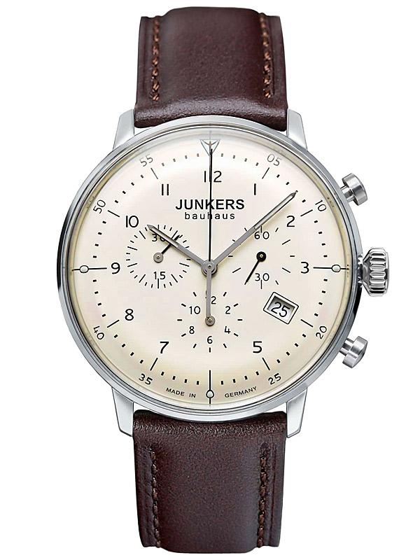 Junkers Bauhaus Chrono 6086 5 Herrenuhr