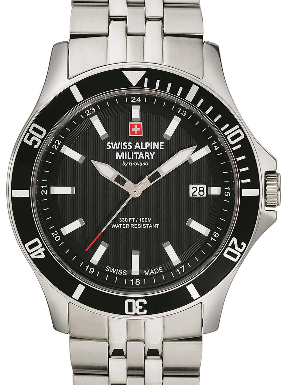 Swiss Alpine Military 7022.1137 Herren 42mm 10ATM