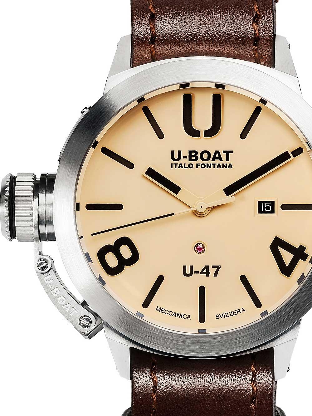 8106 Classico U-47 Automatik beige 47mm 100M