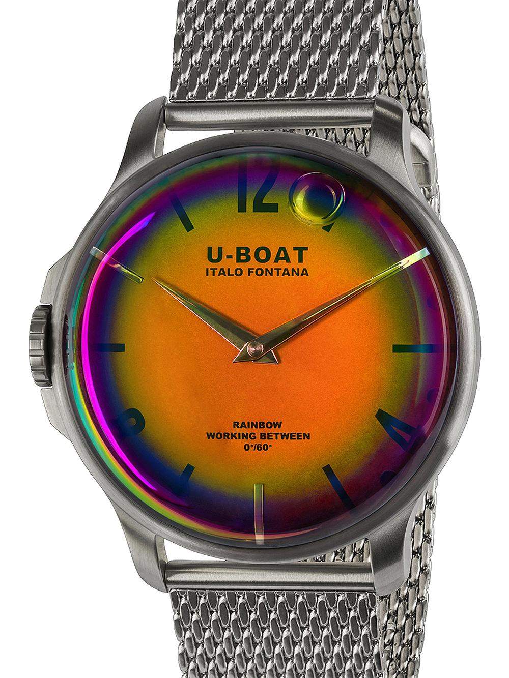 U-Boat 8469/MT Rainbow SS Herren 44mm 5ATM