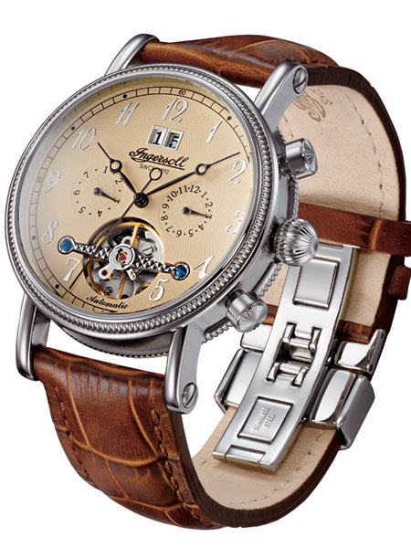 IN1800CR Richmond Herren Automatik 42mm 3ATM