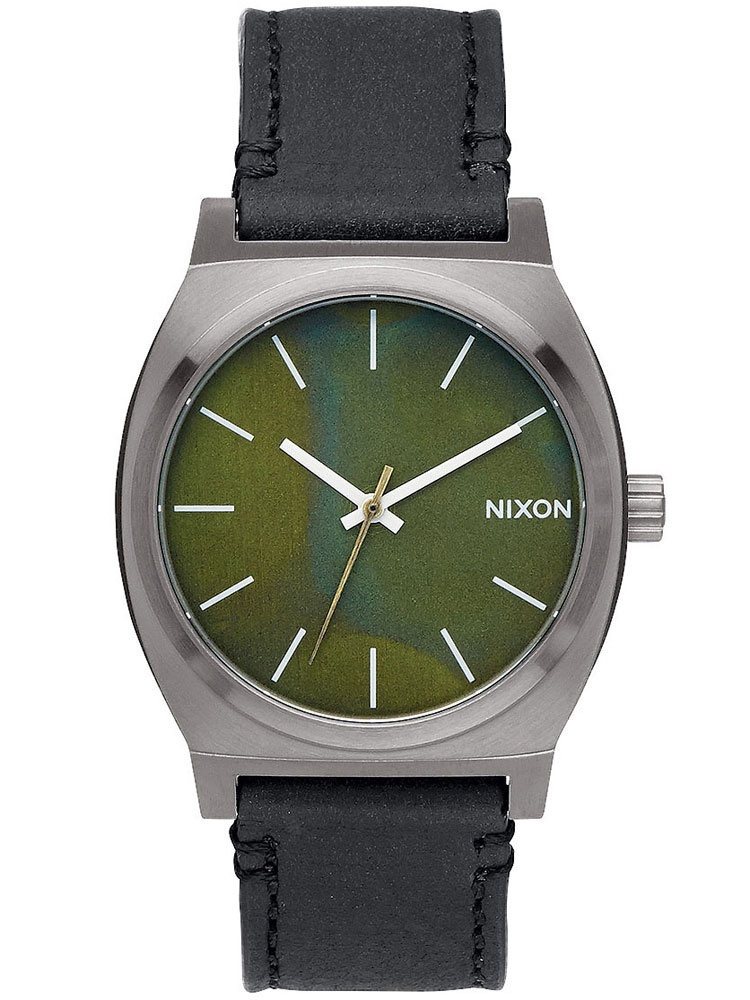 NIXON A045-2070 Time Teller Gunmetal Green Oxyde Black 37mm 10ATM