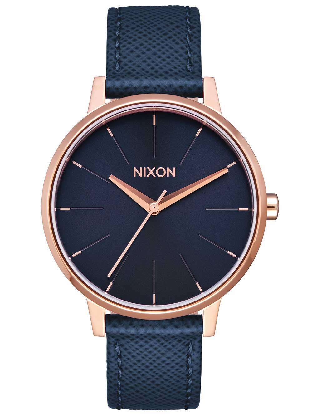 Nixon A108-2195 Kensington Leather Damen 37mm 5ATM