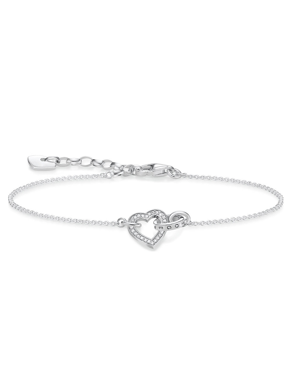 Thomas Sabo Armband Together Herz Klein A1648-051-14 14-19cm