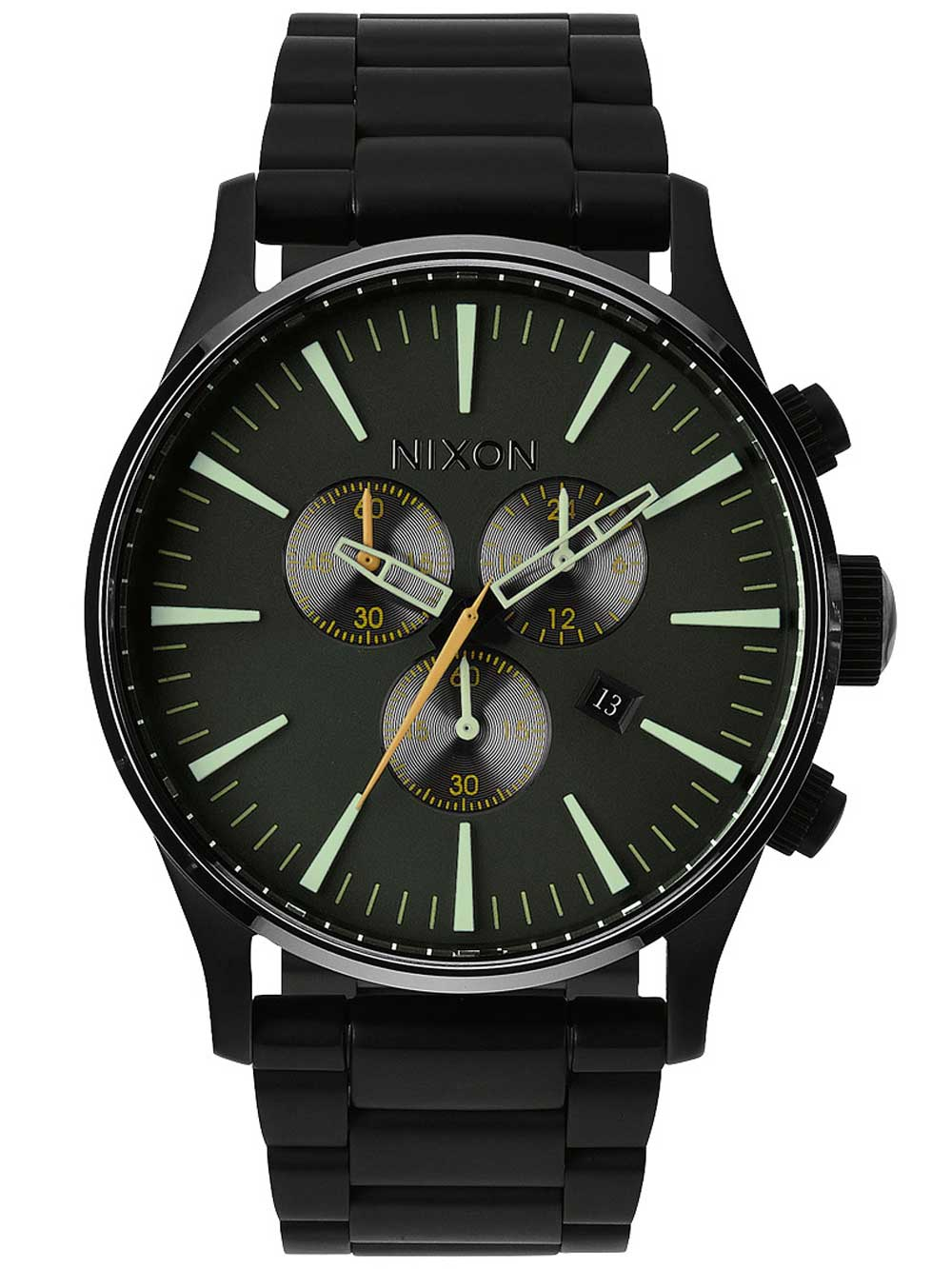 A386-1042 Sentry Chrono Matte Black Surplus 42mm 10ATM