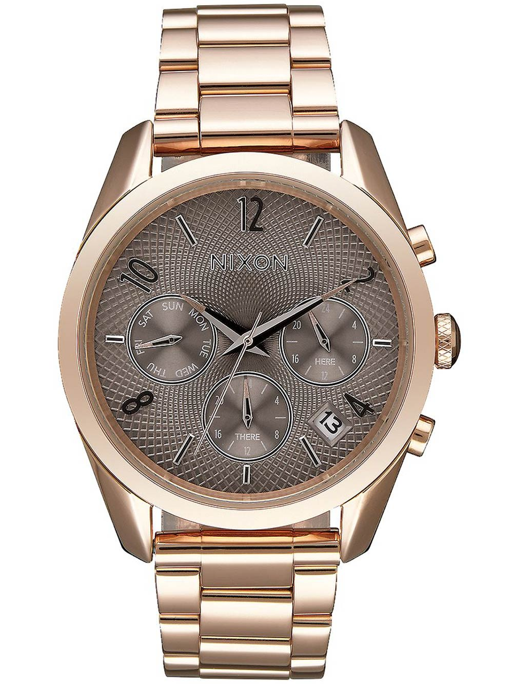 A949-2214 Bullet Chrono 36mm Rose Gold Taupe 5ATM