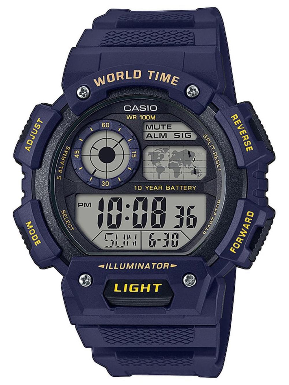 Casio AE-1400WH-2AVEF Collection Herren 48mm 10ATM
