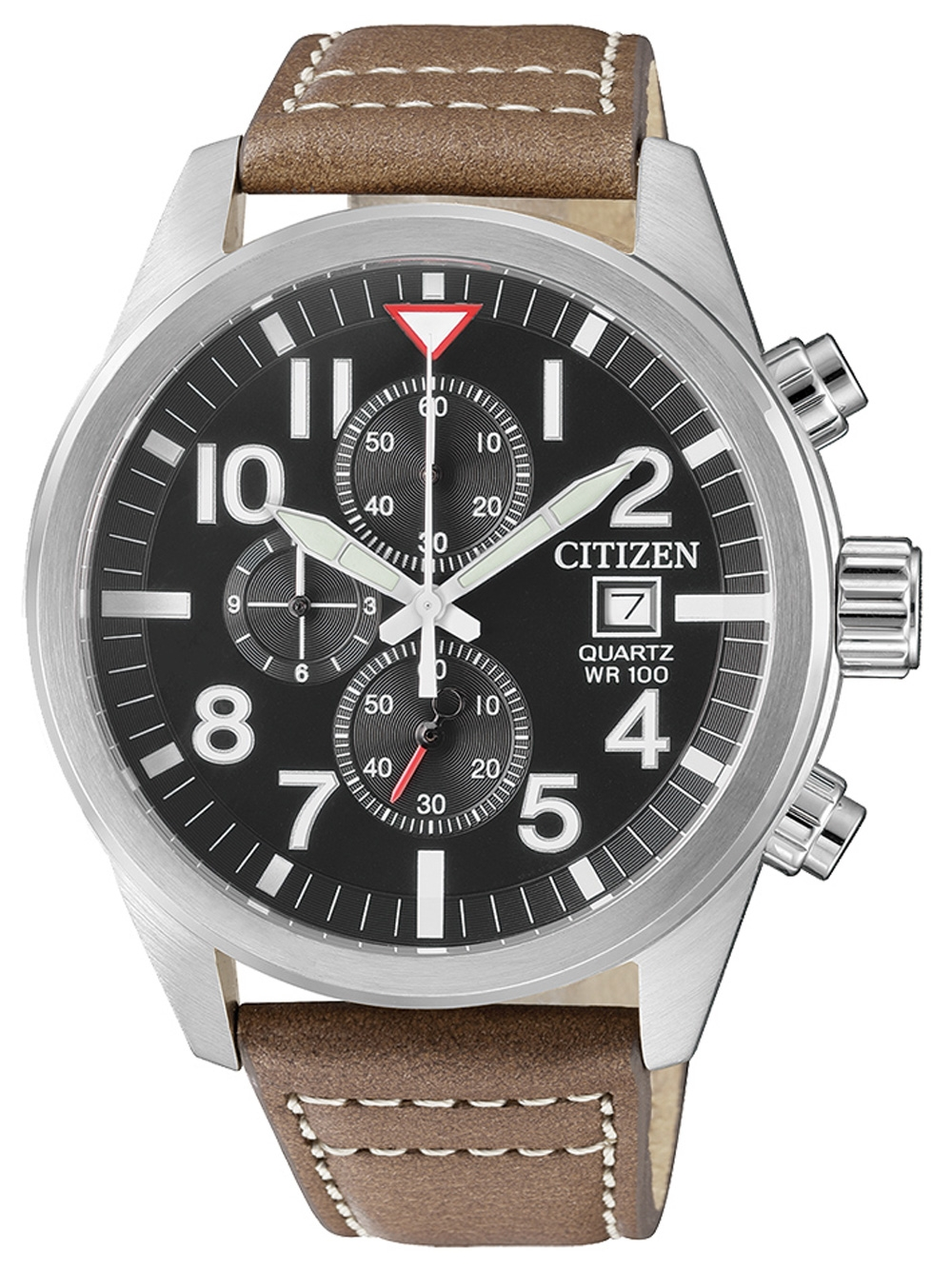 Citizen AN3620 01H Quarz Chronograph 43mm 10ATM