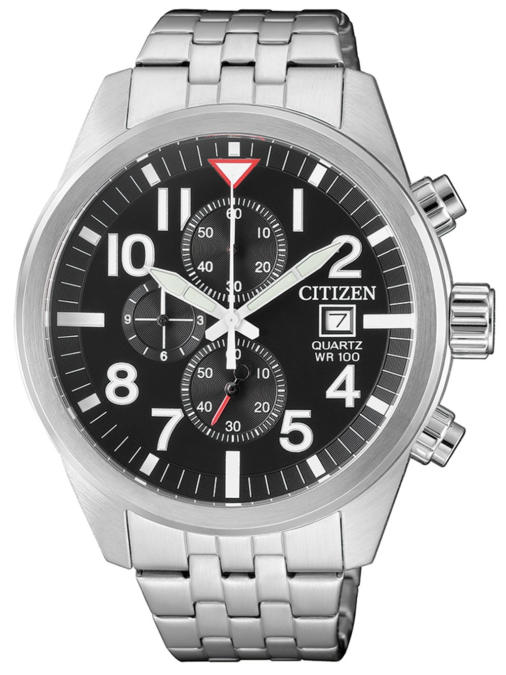 Citizen AN3620 51E Quarz Chronograph 43mm 10ATM