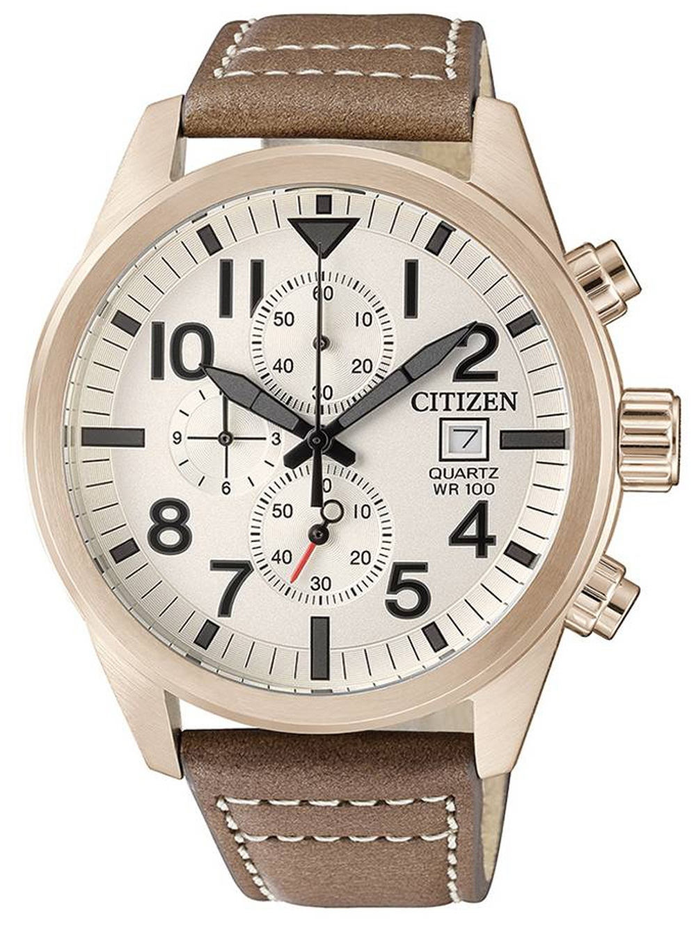 Citizen AN3623-02A Quarz Chronograph 43mm 10ATM