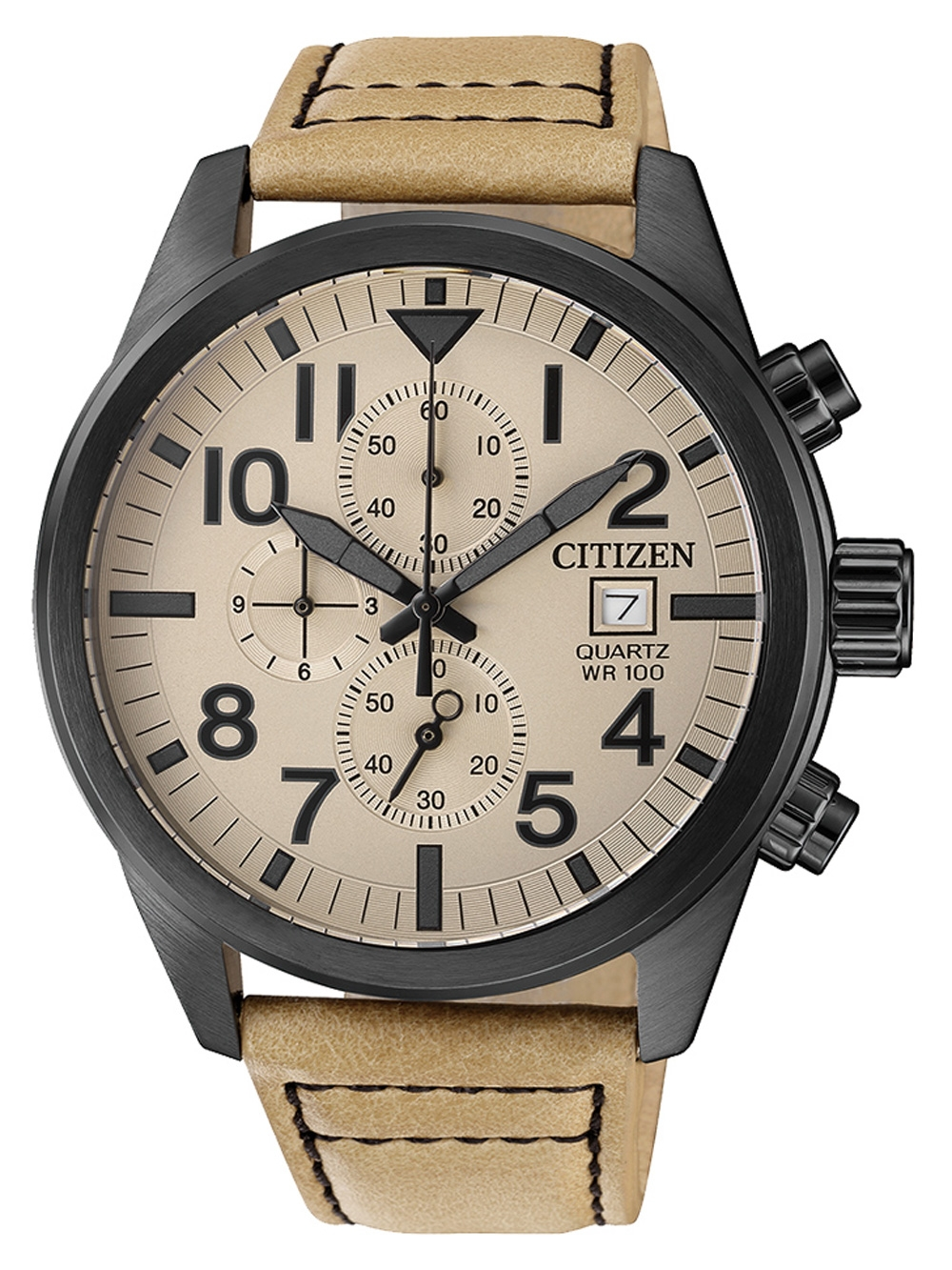 Citizen AN3625 07X Quarz Chronograph 43mm 10ATM