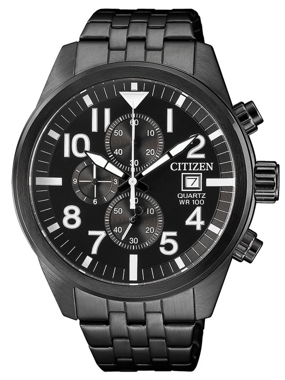 Citizen AN3625 58E Quarz Chronograph 43mm 10ATM