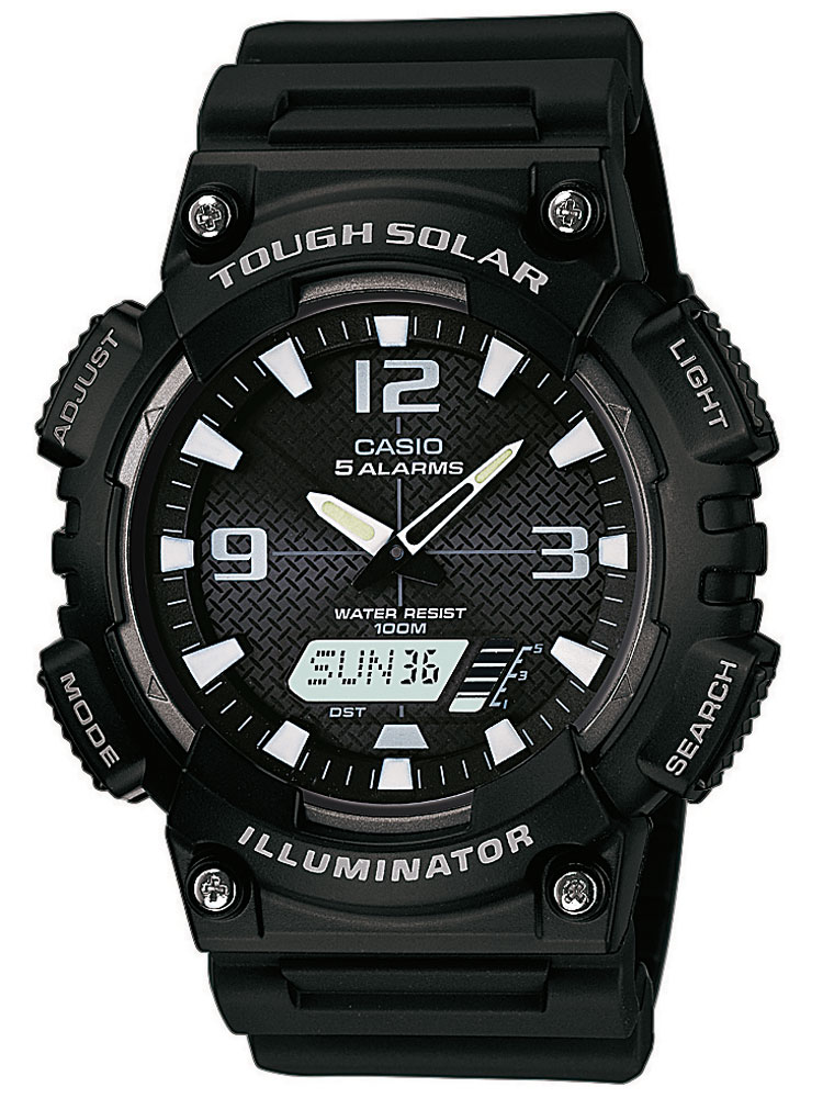AQ-S810W-1AVEF Collection Solar 46mm 10ATM