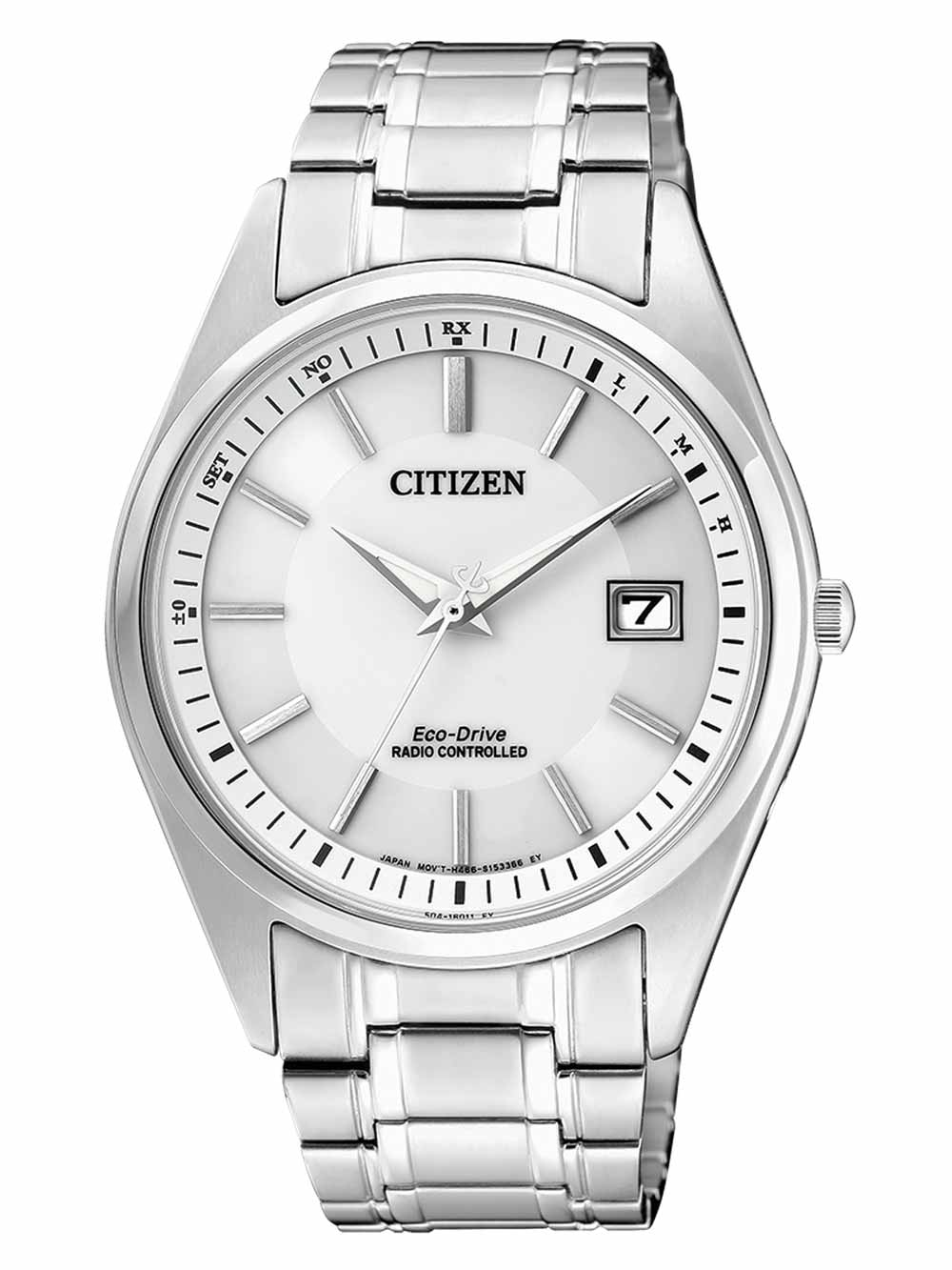 Citizen AS2050 87A Eco Drive Herren Funkuhr 39mm 10ATM
