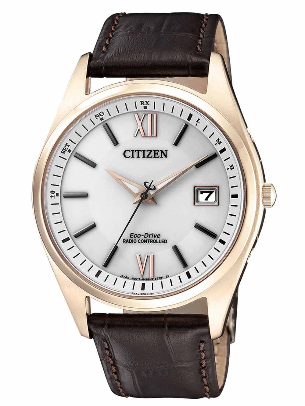 Citizen AS2053 11A Eco Drive Herren Funkuhr 39mm 10ATM