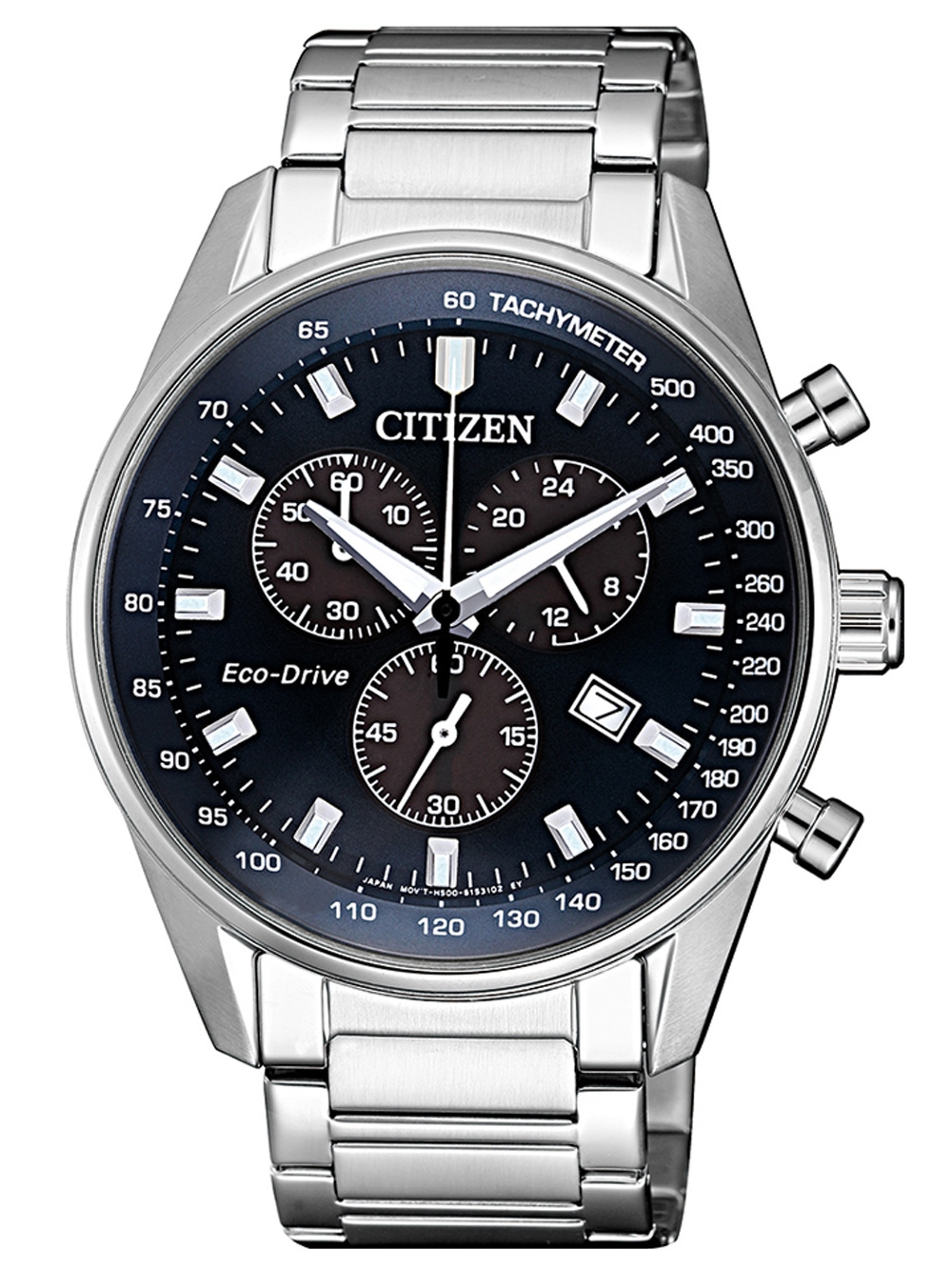 Citizen AT2390 82L Eco Drive Chronograph 40mm 10ATM