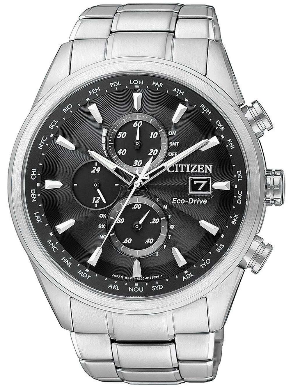Citizen AT8011 55E Eco Drive Elegant Funkuhr Herren Saphirglas 43mm 20ATM