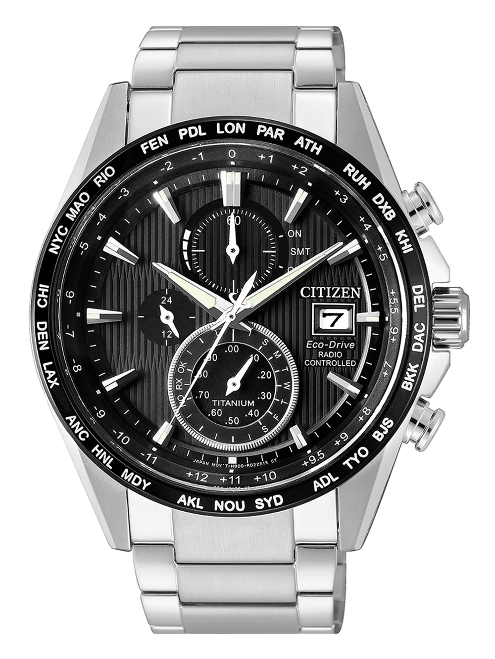 AT8154-82E Eco Drive Chronograph 42mm 10ATM