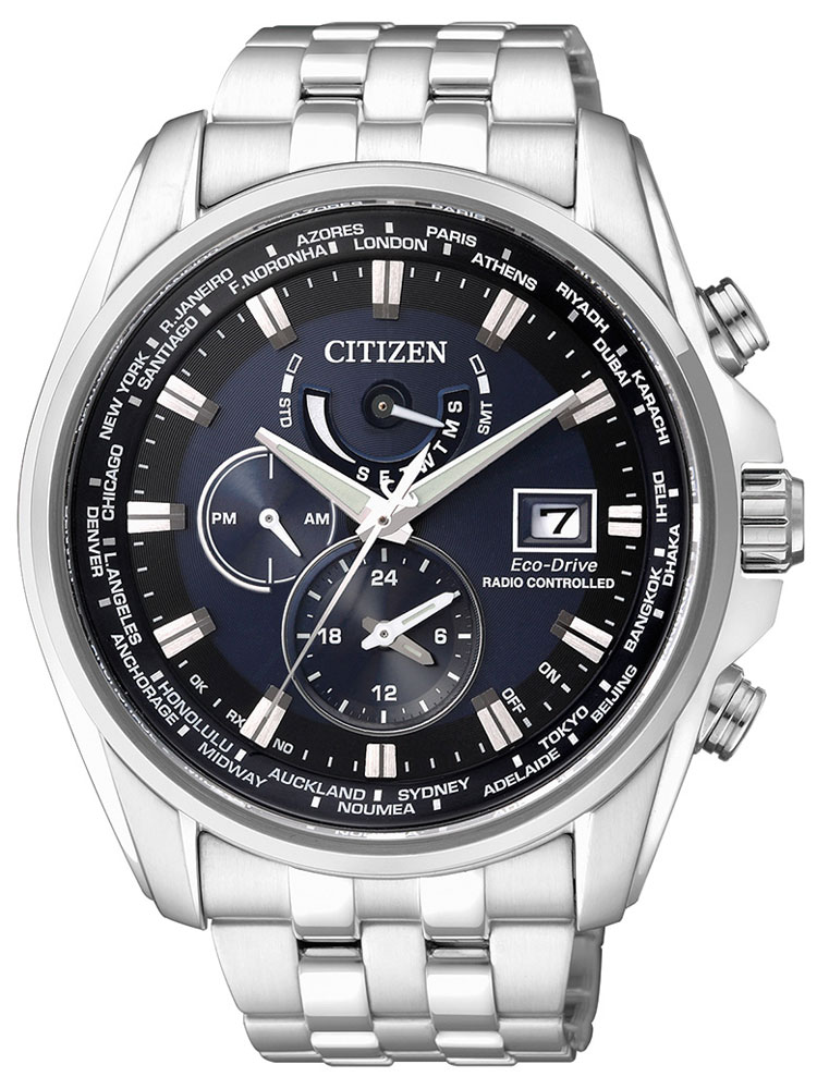 Citizen AT9030-55L Eco-Drive Herren Funkuhr Saphirglas 10ATM 44mm